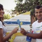 Thaiane Rabelo e Rogério