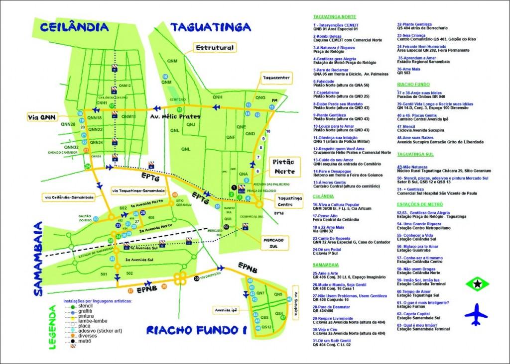Mapa Obras 2012