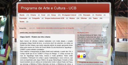 Programa de Arte e Cultura- UCB