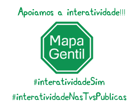 Logo Mapa Gentil Apoio Interatividade