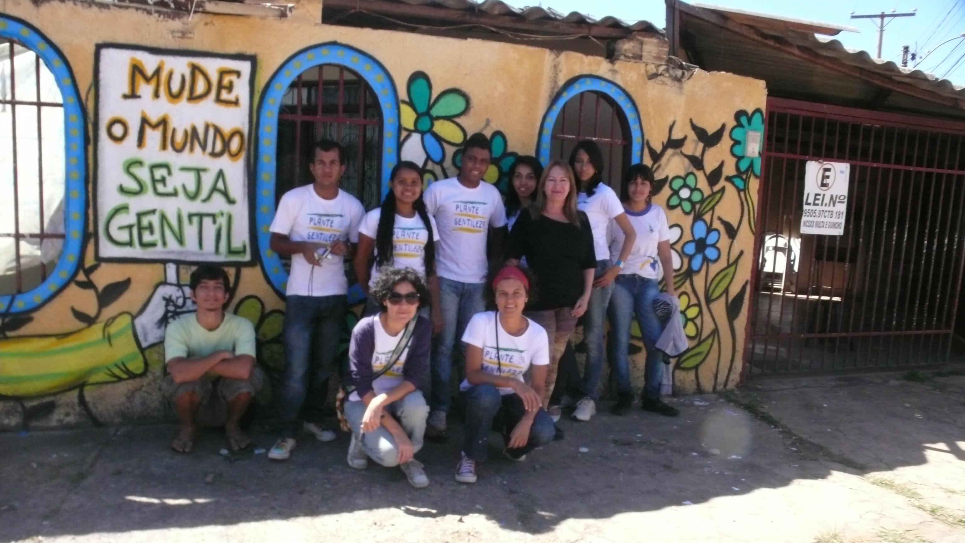 Retrospectiva 2012: Intervenções Rua 406/408 samambaia