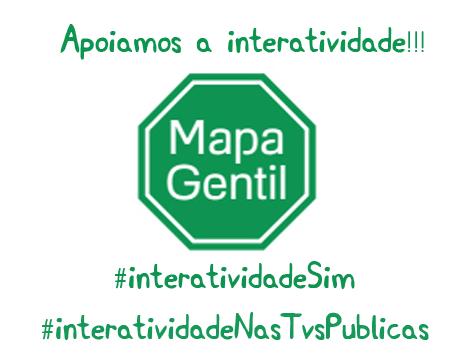 Campanha: Participe da campanha #InteratividadeSim e garanta a interatividade e multiprogramação #InteratividadenasTVsPúblicas